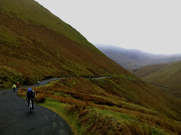 Climbing Newlands Pass