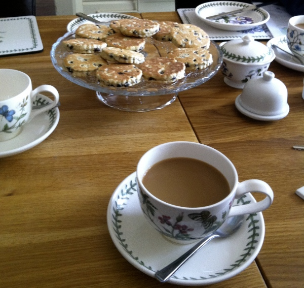 Tea and Welsh Cakes