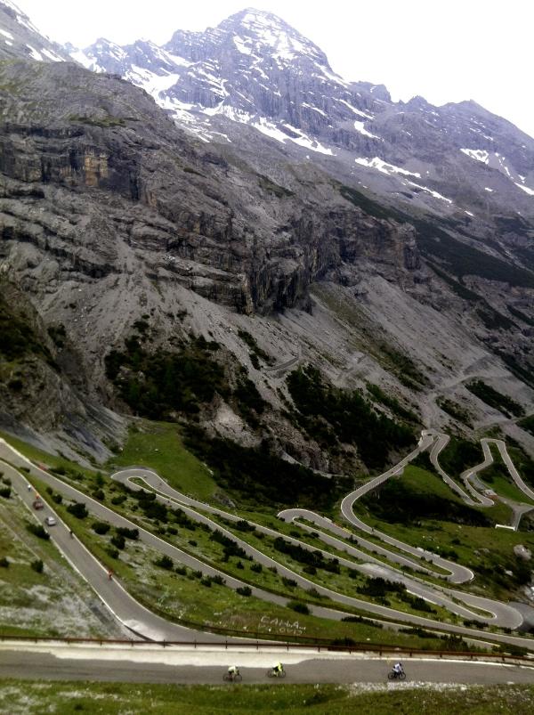 Passo dello Stelvio descent to Bormio