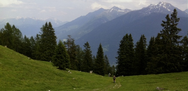 Mountain biking near Innsbruck