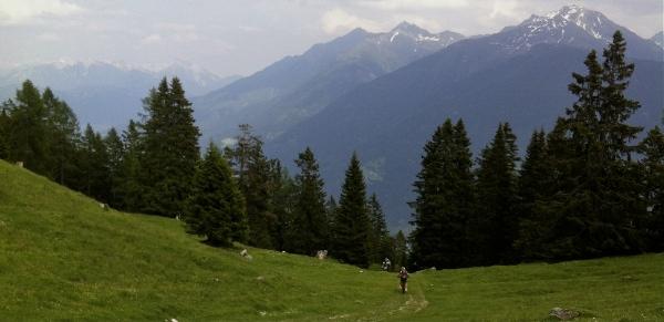 Mountain biking near Innsbruck