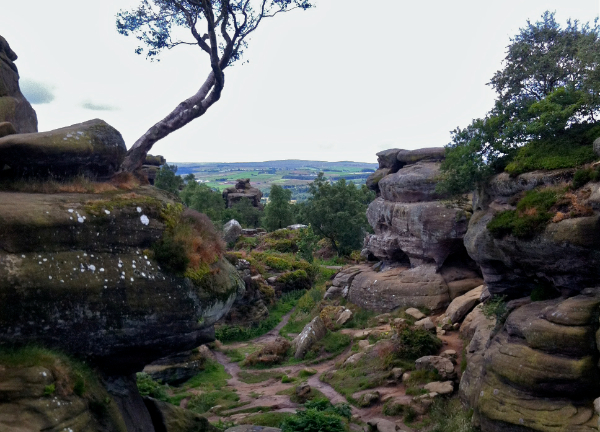 The amazing Brimham Rocks