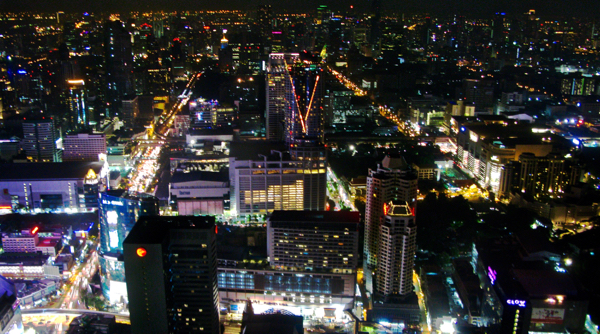 Bangkok from the 67th floor