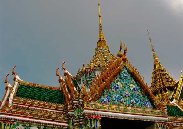 Beautiful detail on the Grand Palace