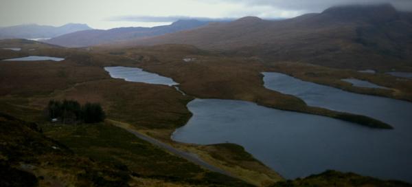 Beautifully bleak landscape