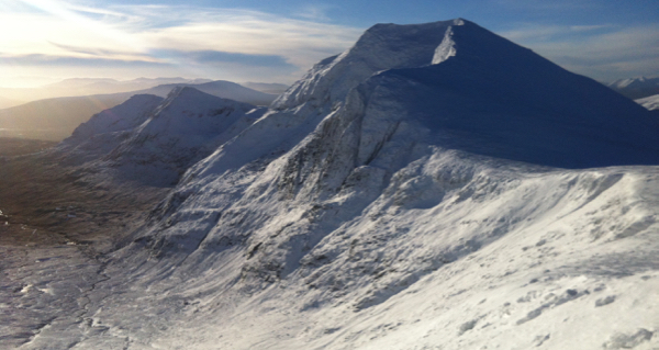 Stunning conditions on the Fannichs