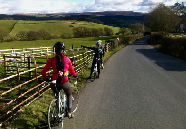 Spring cycling in Lancashire