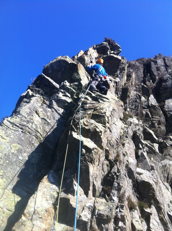 Finishing off Troutdale Pinnacle Superdirect