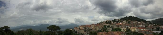View over Sartène