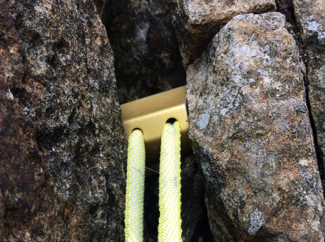 Big trad gear for a big trad climb