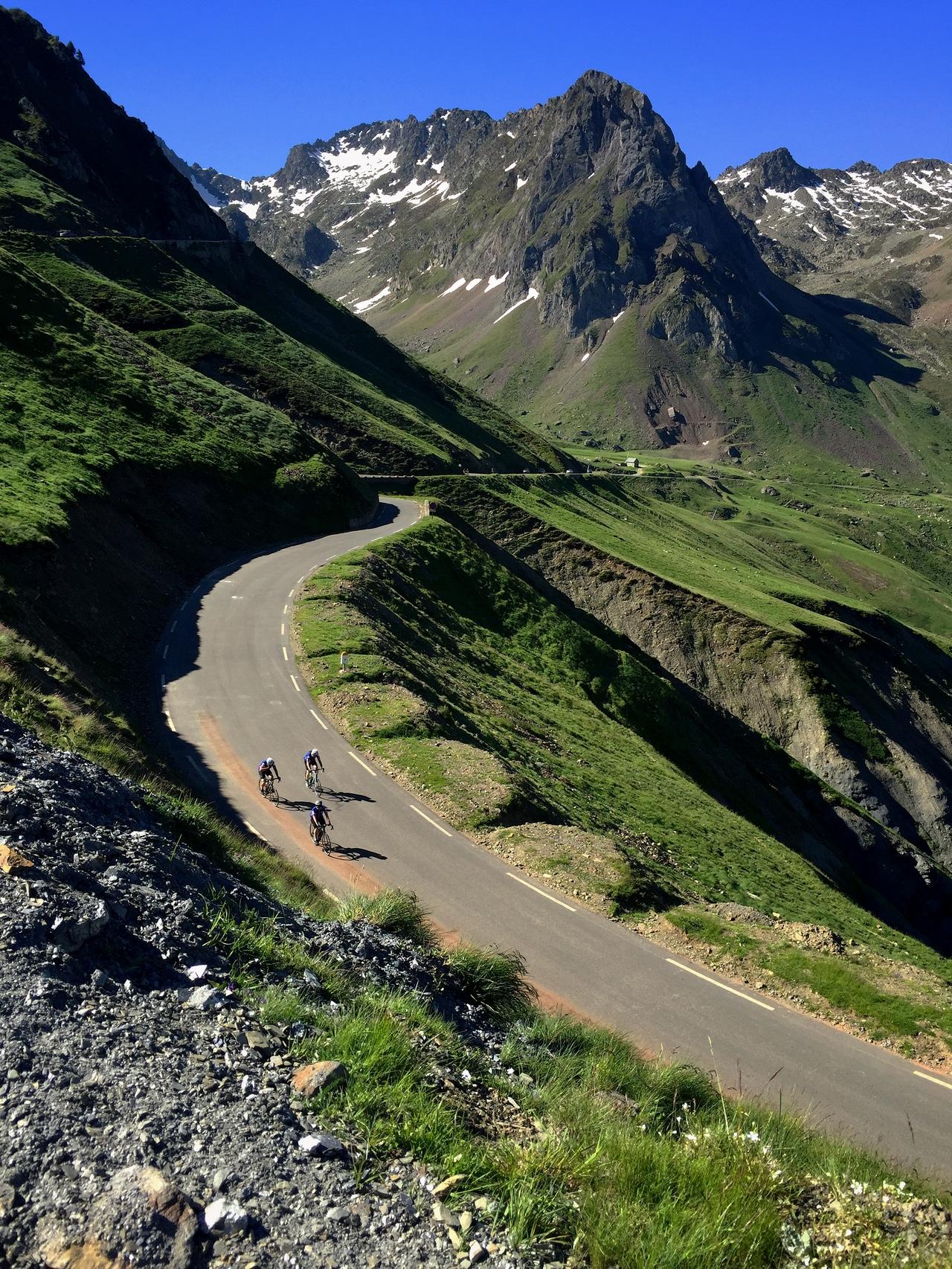 Climbing the Tourmalet. TdF coming soon!