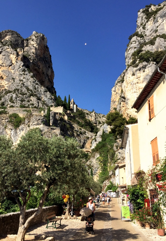 Moustiers Ste Marie, gateway to the Verdon Gorge