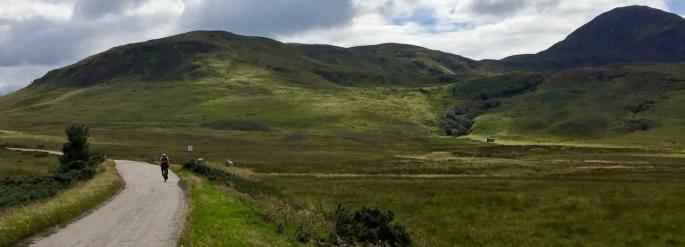 Traversing the beautiful far north of Scotland