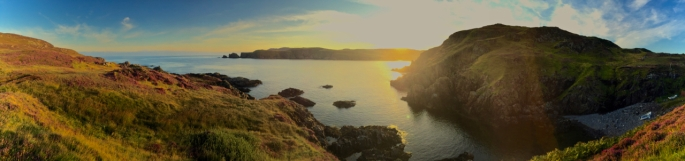 Sunrise on the final day starting at Bettyhill