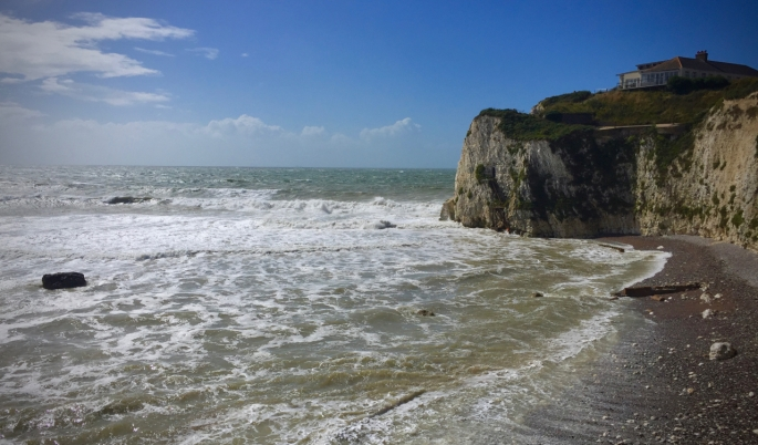 Some of the Isle of Wight's beautiful coastline