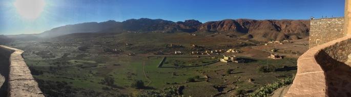 Morning at the Kasbah de Tizourgane