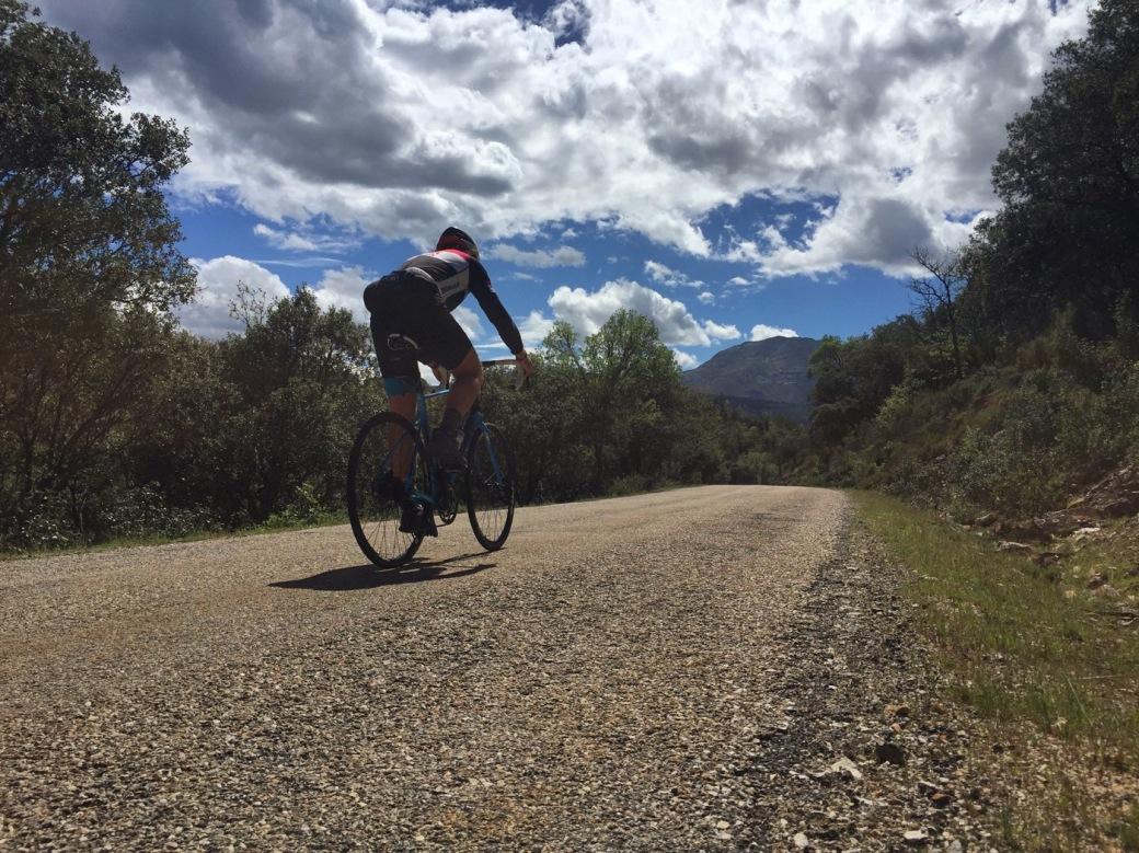 Rolling towards Valverde de los Arroyos
