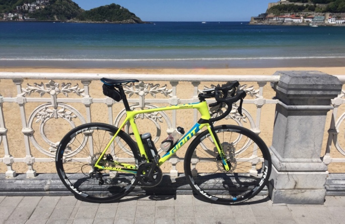 Giant TCR Advanced beach